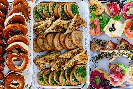 Catering gemischte Platten