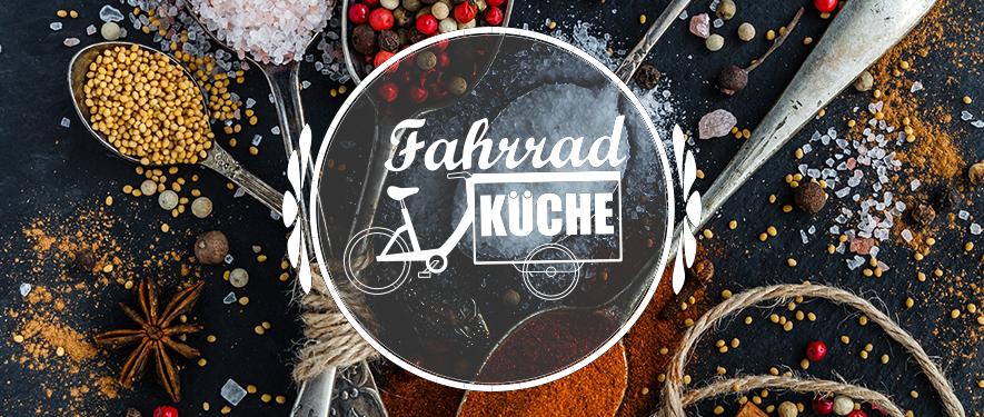 Fahrrad-Küche - Logo mit Hintergrund